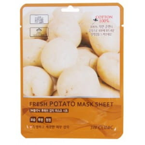 3W CLINIC Fresh mask sheet [Potato] X10sheet