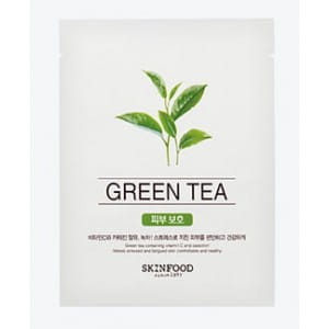 SKINFOOD Beauty in a food mask sheet , Green Tea