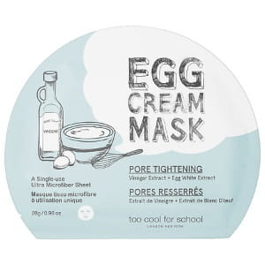 Too Cool For School Egg Cream Mask - Pore Tightening 28g