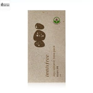 INNISFREE Jeju volcanic nose pack 1 box(6ea)