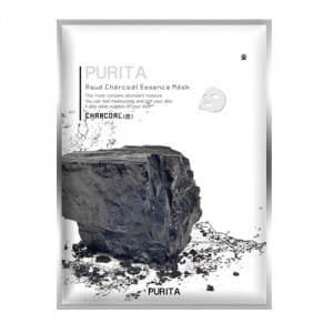 PURITA Aqua Charcoal Essence Mask 22g*10ea