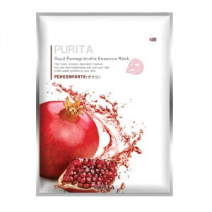 PURITA Aqua Pomegranate Essence Mask 22g*10ea