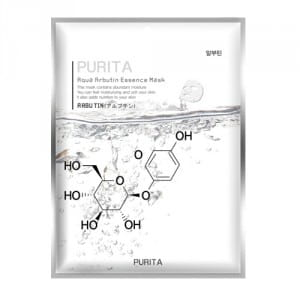 PURITA Aqua Arbutin Essence Mask 22g*10ea