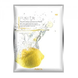 PURITA Aqua Lemon Essence Mask 22g*10ea
