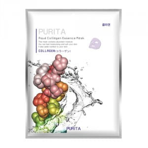PURITA Aqua Collagen Essence Mask 22g*10ea