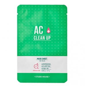 ETUDE HOUSE AC Clean Up Sheet Mask 27g