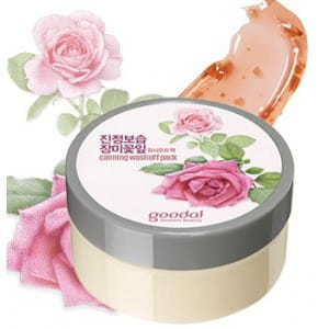 Goodal Nature's Solution Rose Leaf Soothing Pack [Wash off] 100ml