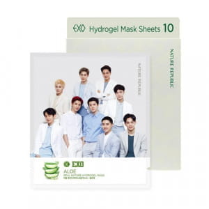 NATURE REPUBLIC Real Nature Hydro Gel Mask 22g*10ea (EXO Edition)