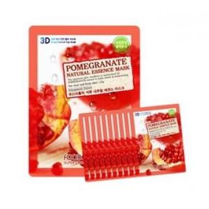 FOOD A HOLIC 3D Natural Essence Mask [Pomegranate] x10EA