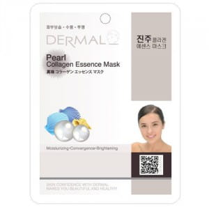 Маска для лица с коллагеном Dermal Pearl Collagen Essence Mask 23g