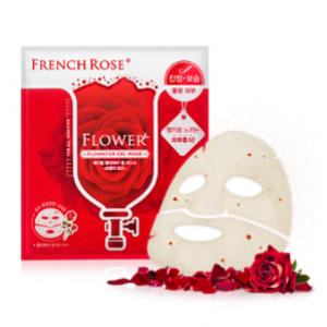 MEDIHEAL Flowater Gel Mask French Rose 1box (10pcs)
