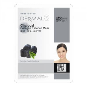 DERMAL Charcoal Collagen Essence Mask 23g