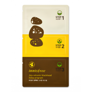 INNISFREE jeju volcanic blackhead 3step program
