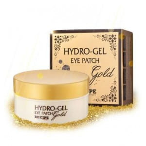 RE:CIPE Hydro Gel Gold eye patch