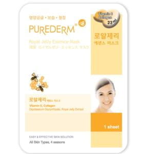 Маска с маточным молочком Purederm Essence Mask - Royal Jelly
