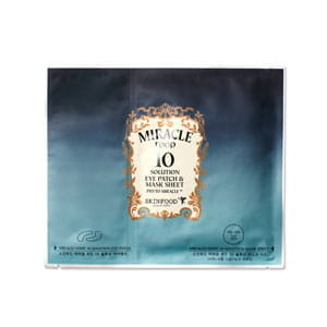 Листовая маска для лица и кожи вокруг глаз  Skinfood Miracle Food 10 Solution Eye Patch 0.08g Mask Sheet 30g