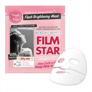 Гидрогелевая маска Faith in Face: Black & White Flim Star Flash Brightening Hydrogel Mask 1ea