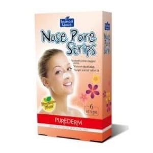 Очищающие полоски для носа от Purederm Nose pore strips