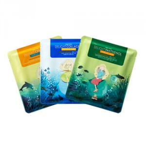 Комплект из четырех масок для лица [W1] SALLY'S BOX Delight Hydrogel Mask 25g