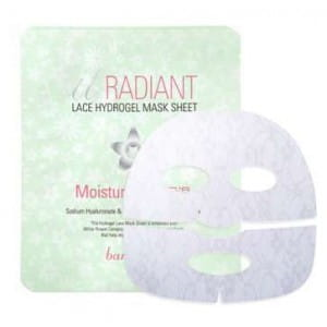 Гидрогелевая листовая маска для лица Banila Co It Radiant LACE Hydrogel mask sheet 65 g.