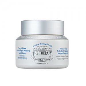 THEFACESHOP The Therapy Secret-Made Moisturizing & Soothing Facial Mask 120ml