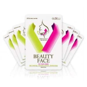 Комплект из семи подтягивающих масок и сменного бандажа Rubelli Beauty face (mask sheet 7ea)