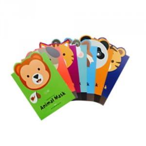 Серия листовых «звериных» масок Berrisom Animal Mask Series 25ml