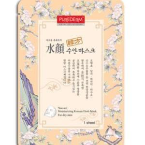 Маска с растительными экстрактами Purederm Korean Herb Mask - Soo-an