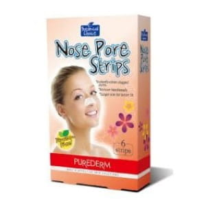 Очищающие полоски для носа Purederm Nose pore strips