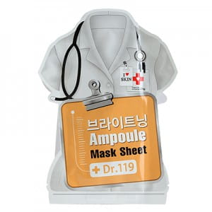 Dr.119 Brightening ampoule mask sheet