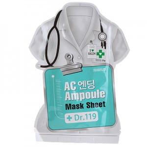 Dr.119 AC Ending ampoule mask sheet