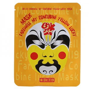 Dr.119 Farewell My Concubine Yellow lucky Mask
