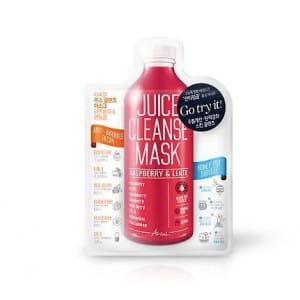 ARIUL Juice Cleanse Mask Raspberry & Lentil