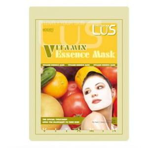 Листовая одноразовая маска с витаминами LUS Essence Mask [Vitamin]