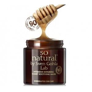 SO NATURAL Intensive repairing Honey soothing mask 100ml