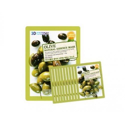 FOOD A HOLIC 3D Natural Essence Mask [Olive] x10EA