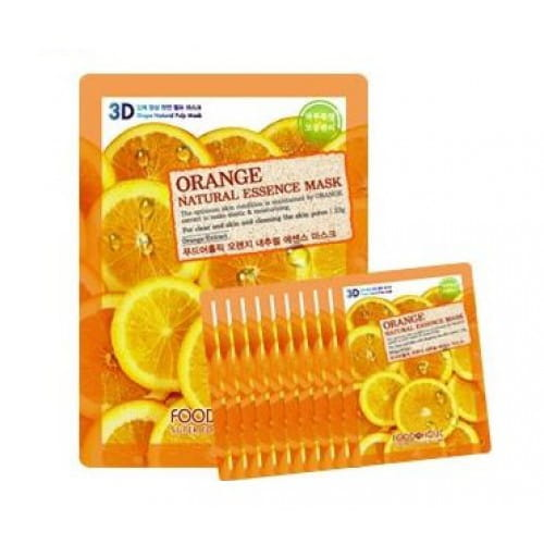 FOOD A HOLIC 3D Natural Essence Mask [Orange] x10EA