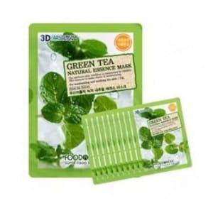 FOOD A HOLIC 3D Natural Essence Mask [Green Tea] x10EA