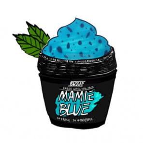 [MERRYSHOP] B&SOAP Mamie Blue fresh wash off pack 130g