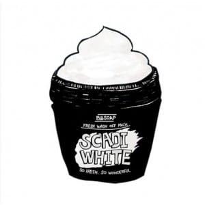 [MERRYSHOP] B&SOAP Scadi White fresh wash off pack 110g