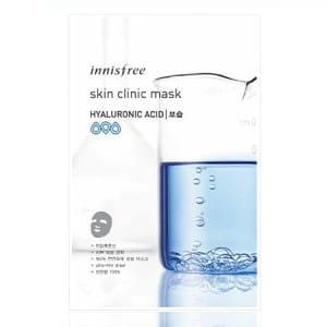 Листовая маска с гиалуроновой кислотой Innisfree Skin Clinic Mask Hyaluronic Acid 20ml