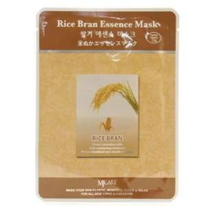 Листовая маска для лица с рисом MJ CARE Essence Mask [Rice Bran]