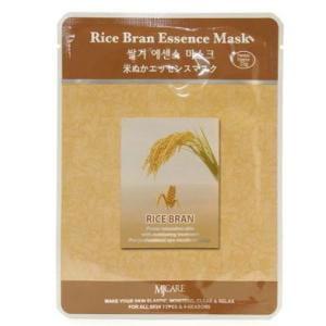 Листовая маска для лица с рисом MJ CARE Essence Mask [Rice Bran]