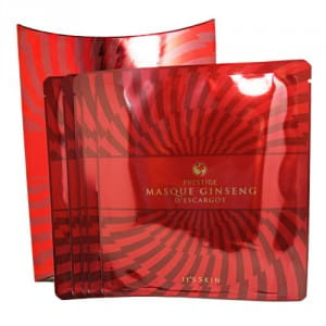 Листовая маска с женьшенем It's Skin Prestige Masque Ginseng D'escargot 5EA