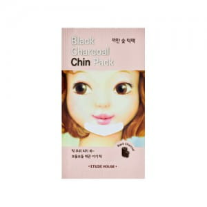 Локальная маска от Etude House Black Charcoal Chin Pack