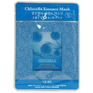 Маска для лица листовая MJ CARE Essence Mask [Chlorella]