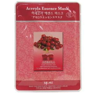 Листовая маска  с ацеролой MJ CARE Essence Mask [Acerola]