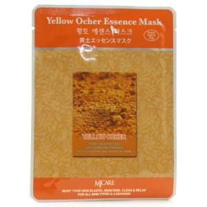 Листовая маска для лица  с жёлтой охрой MJ CARE Essence Mask [Yellow Ocher]