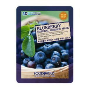 3D-маска с  экстрактом  черники Food A Holic 3D Natural Essence Mask [Blueberry]