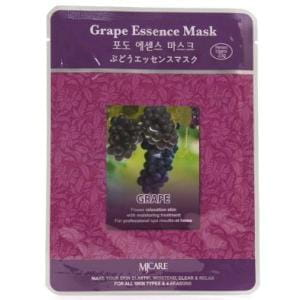 Листовая маска для лица с виноградом MJ CARE Essence Mask [Grape]